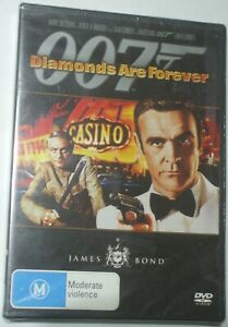 Diamonds Are Forever - Sean Connery Jill St. John - new/sealed R4 DVD - Posted