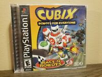 Cubix: Robots for Everyone Race 'N Robots - Playstation 1 PS1 Game - Complete