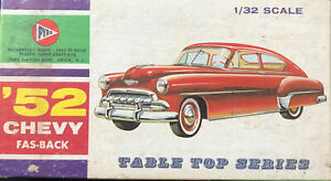 PYRO '52 CHEVY FAS-BACK 1/32 SCALE C293-50 7 TABLE TOP SERIES