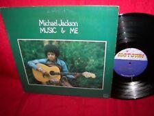 MICHAEL JACKSON music & me LP record album EX Jackson 5 Motown