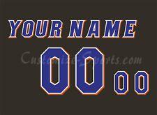 NCAA Florida Gators Personalizado número de Kit para 2017-presente Jersey Negro