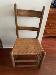 Vintage Primitive Rustic Shaker Chair