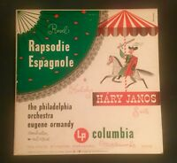RAVEL: RHAPSODIE ESPAGNOL-KODALY HARRY JANOS COL #Ml 4306 STEINWEISS 1950 GEM LP