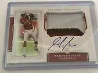 2019 National Treasures Hakeem Butler RPA 19/25 Cardinals Auto