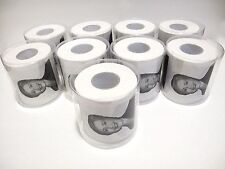 9x ROLLS Lock Her Up Hillary Clinton Toilet Tissue Paper Novelty Joke Humor GAG