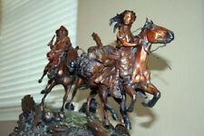 "David Lemon      ""Trap'n Where He Hadn't Oughta ""    Sculpture - Bronze       BA"