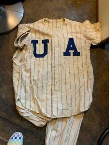 Antique 1920's UA Baseball Uniform
