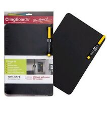 Clingboard Blackboard- Small- Black