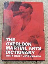MARTIAL ARTS BOOK Overlook m.a. dictionary Farkas/Corcoran HARDBACK/DJ