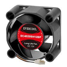 EverCool EC4020SH12BP 40mm x 20mm PWM Fan, 4Pin PWM