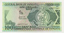 New listing Vanuatu 100 Vatu Nd 1982 Pick 1.a Unc Uncirculated Banknote