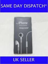 HEADPHONES HANDSFREE EARPHONE WITH MIC FOR IPHONE 3G 3GS UK SELLER