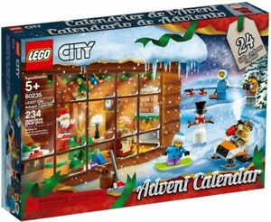 LEGO City: Advent Calendar (60235) Building Kit 234 Pcs