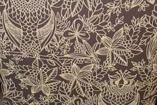 BELGRAVIA OWL PATTERN FLORAL LEAF BIRD MOTIF METALLIC DESIGNER WALLPAPER 9712