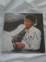 MICHAEL JACKSON Autogramm THRILLER signiert LP signed AUTOGRAPH InPERSON