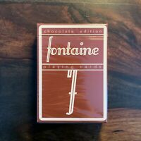 Chocolate Fontaine Playing Cards - Limited First Edition