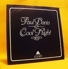 """7"""" Single Vinyl 45 Paul Davis Cool Night / One More Time For The Lonely 2TR 1981"""