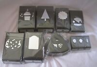 Stampin Up Variety of RETIRED PAPER PUNCHES U Choose the Punch NEW