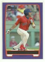 2012 Bowman Prospects Purple Jackie Bradley Jr. RC #BP66 Rookie Red Sox