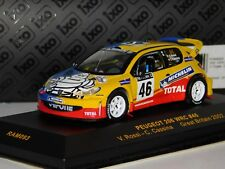 PEUGEOT 206 WRC #46 VALENTINO ROSSI GREAT BRITAIN 2002 IXO RAM093 1/43