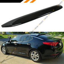 FOR 2011-15 KIA OPTIMA GLOSS BLACK REAR WINDOW VISOR ROOF SPOILER WING DEFLECTOR