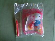 McDonald's Happy Meal 2004 HELLO KITTY Pencil Pedal Pusher Riding Bike MISP