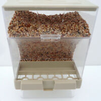 Bird Pet Seed Gravity Feeder splash proof Automatic Food Container