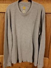 MEN'S TIMERLINE THERMAL LONG SLEEVE TEE SHIRT XL COTTON