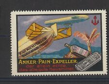 German Poster Stamp Zeppelin