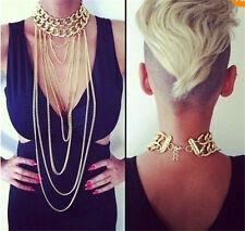 New Body Chain Jewelry Bikini Waist Gold Belly Beach Harness Slave Necklace