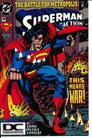 Action Comics 699 NM- DC Universe Logo Variant DCU Comic Battle for Metropolis