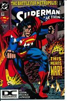 Action Comics #699 NM- DC UNIVERSE LOGO VARIANT! RARE HTF DCU