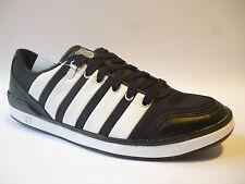 Para Hombre K-Swiss Grande Tribunal Zapatillas Negras Uk Size 8.5 Nuevo £ 19.99