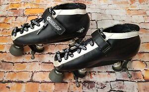 Bont Hybrid Roller Derby Skates Roller Skates + Ballistic Wheels + Extras UK 6