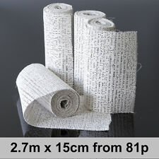 Modroc Plaster of Paris Modelling Craft Bandage 15cm x 2.7m Scenery Aid