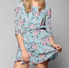 Urban Outfitters Lucca Couture Chiffon 3 4-Sleeve Mini Dress - Medium 8ae30acba