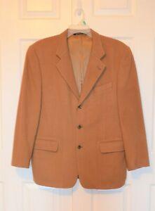 Excellent condition 1990s Atelier Torino beige color size L Classic style long sleeve 85/% wool Vintage men/'s classic Blazer