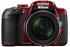 Nikon COOLPIX B700 Compact Digital Camera - Red