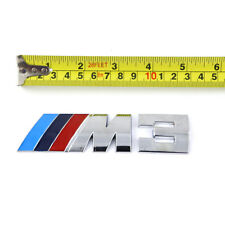 HOT Auto car Metal ///M3 Silver logo Emblem Badge Sticker Decal fit for BMW