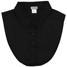 IGotCollared Black Dickey Collar Detachable Collar Dickies Dicky Blouse Collar