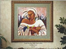 """African American Black Art Print """"GOOD FOR THE SOUL"""" by LaShun Beal"""