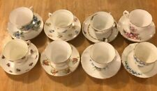 MISMATCHED TEA CUPS AND SAUCERS LOT #6 EIGHT SHABBY CHIC TEA PARTIES AND MORE