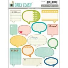 October Afternoon DAILY FLASH BUBBLE TALK Flash Chip #CB-1101