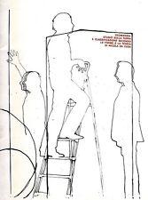 CEROLI Mario, Mario Ceroli. Galleria de' Foscherari 1972