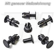 15x Expanding rivet Clips Fairing for Mercedes Benz Dark grey A1239900092