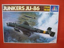 Italeri ® 120 Junkers Ju-86 E1 E2 1:72