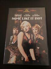 Some Like It Hot Dvd, 2001 Marilyn Monroe Jack Lemmon Tony Curtis