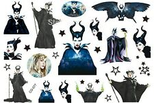 Disney Maleficent película Hada Cartoon organismo temporal Tattoo Para Niños-cg-077