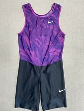 Nike Turbo Elite Pro Track Throwing Sprint Running Sponsored Athlete Speedsuit