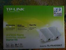 TP-LINK AV500 Powerline Adapter Starter Kit (TL-PA4010PKIT)